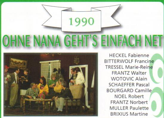 """OHNE NANA GEHT'S EINFACH NET"""