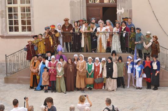 Journée du patrimoine à Fenetrange, organisée par l'office du tourisme